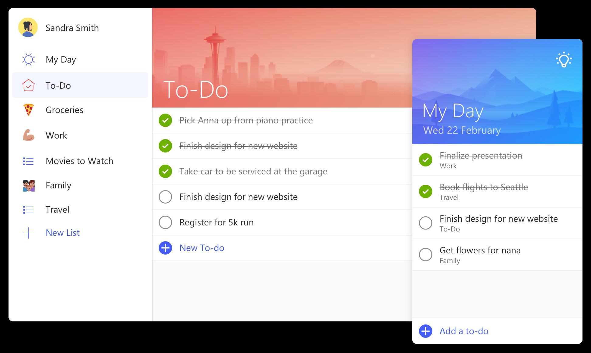 Microsoft To Do 2018